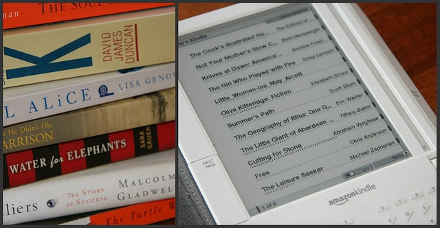 ebooks and print books