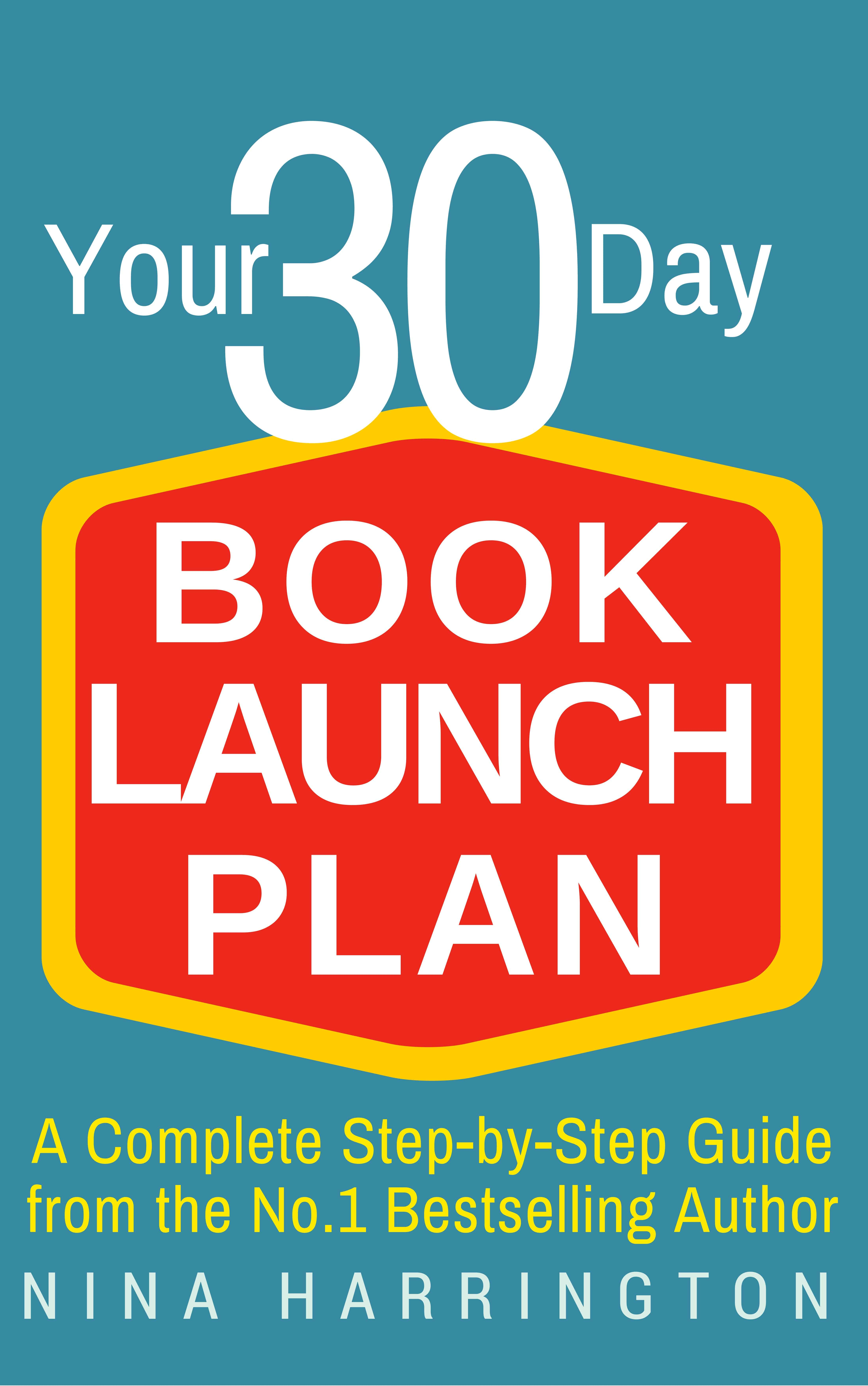 30 DAY BOOK LAUNCH plan-cover