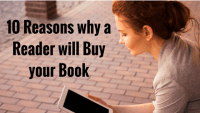 10 Reasons why a Reader will buy your Book